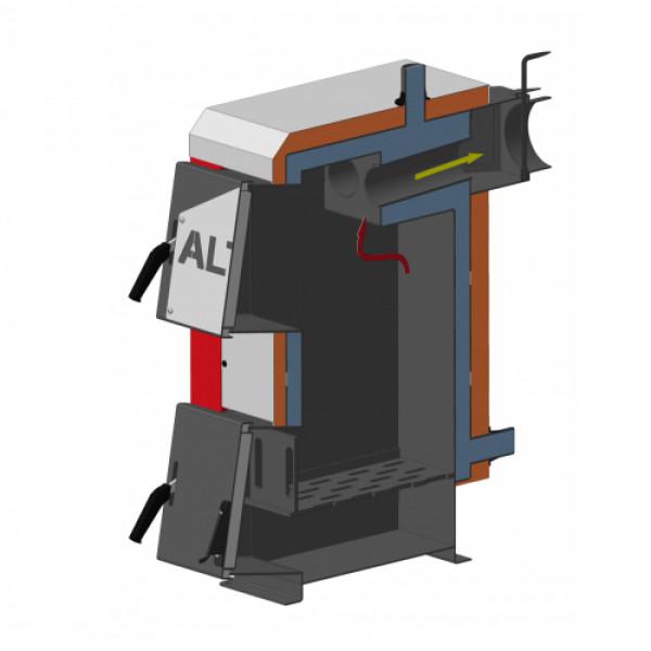 Котел твердопаливний тривалого горіння Altep mini 12 кВт