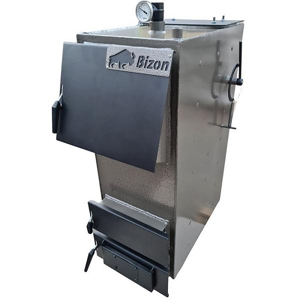 Котел твердопаливний (дрова, вугілля) тривалого горіння Bizon-F 10 кВт
